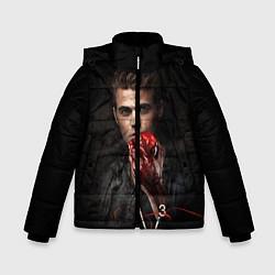 Куртка зимняя для мальчика Stefan Salvatore V3 цвета 3D-черный — фото 1