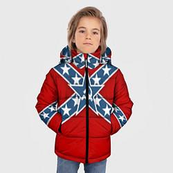 Куртка зимняя для мальчика Флаг советской конфедерации - фото 2