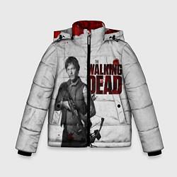 Куртка зимняя для мальчика Ходячий Дерил Диксон цвета 3D-черный — фото 1