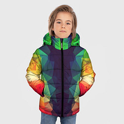 Куртка зимняя для мальчика Grazy Poly VPPDGryphon цвета 3D-черный — фото 2