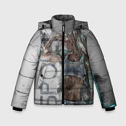 Куртка зимняя для мальчика Фитоняшка цвета 3D-черный — фото 1