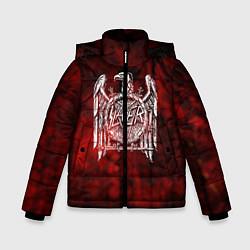 Детская зимняя куртка для мальчика с принтом Slayer: Blooded Eagle, цвет: 3D-черный, артикул: 10109345006063 — фото 1