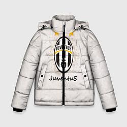 Куртка зимняя для мальчика Juventus3 цвета 3D-черный — фото 1