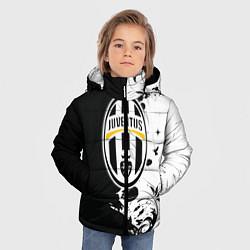 Куртка зимняя для мальчика Juventus4 цвета 3D-черный — фото 2