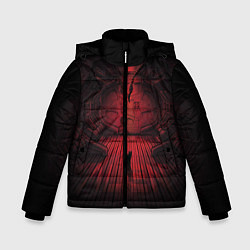 Куртка зимняя для мальчика Alien: Space Ship цвета 3D-черный — фото 1