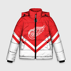 Куртка зимняя для мальчика NHL: Detroit Red Wings цвета 3D-черный — фото 1