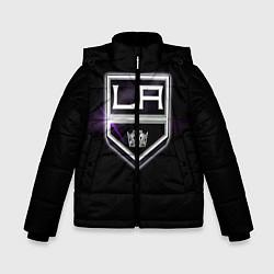 Куртка зимняя для мальчика Los Angeles Kings цвета 3D-черный — фото 1