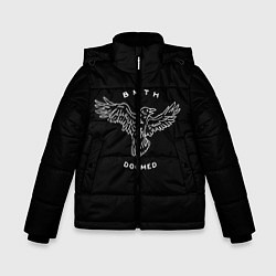 Куртка зимняя для мальчика BMTH: Doomed цвета 3D-черный — фото 1