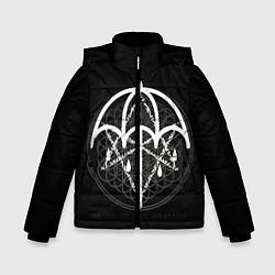Куртка зимняя для мальчика BMTH: Rain Symbol цвета 3D-черный — фото 1