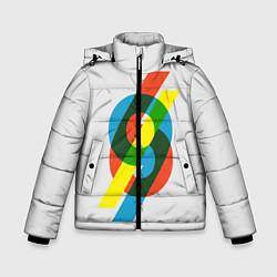 Куртка зимняя для мальчика 69 цвета 3D-черный — фото 1