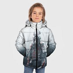 Куртка зимняя для мальчика Shadow Tactics цвета 3D-черный — фото 2