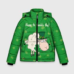 Куртка зимняя для мальчика Ирландия цвета 3D-черный — фото 1