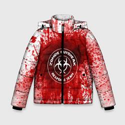 Куртка зимняя для мальчика Zombie Outbreak цвета 3D-черный — фото 1
