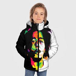Куртка зимняя для мальчика Bob Marley: Colors цвета 3D-черный — фото 2