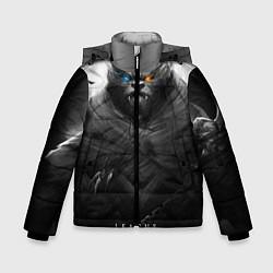 Куртка зимняя для мальчика Rengar LoL цвета 3D-черный — фото 1