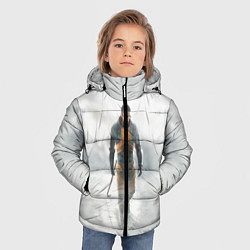 Куртка зимняя для мальчика HL: Freeman цвета 3D-черный — фото 2