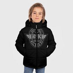 Куртка зимняя для мальчика AC/DC: Will never die цвета 3D-черный — фото 2