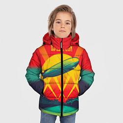 Куртка зимняя для мальчика Led Zeppelin: Hindenburg - фото 2