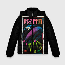 Куртка зимняя для мальчика Led Zeppelin: Angel Poster - фото 1