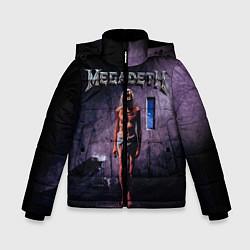 Детская зимняя куртка для мальчика с принтом Megadeth: Madness, цвет: 3D-черный, артикул: 10118377406063 — фото 1