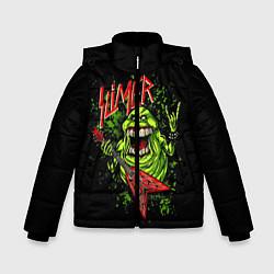 Куртка зимняя для мальчика Slayer Slimer цвета 3D-черный — фото 1