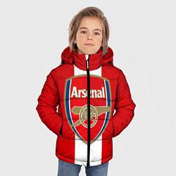 Куртка зимняя для мальчика Arsenal FC: Red line цвета 3D-черный — фото 2