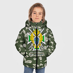 Куртка зимняя для мальчика ПВ За службу на Кавказе цвета 3D-черный — фото 2