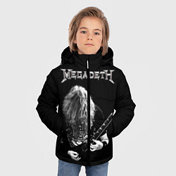 Куртка зимняя для мальчика Dave Mustaine цвета 3D-черный — фото 2