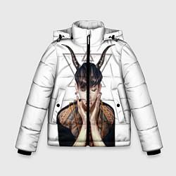 Куртка зимняя для мальчика EXO Demon цвета 3D-черный — фото 1