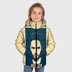 Детская зимняя куртка для мальчика с принтом Jared Leto, цвет: 3D-черный, артикул: 10123234106063 — фото 2