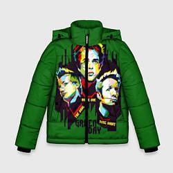 Куртка зимняя для мальчика Green Day: Trio цвета 3D-черный — фото 1