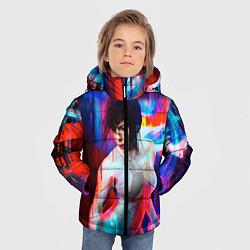 Куртка зимняя для мальчика Ghost In The Shell 13 цвета 3D-черный — фото 2