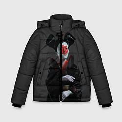 Куртка зимняя для мальчика Ghost In The Shell 2 цвета 3D-черный — фото 1