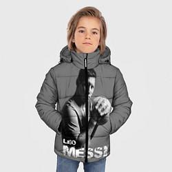 Куртка зимняя для мальчика Leo Messi цвета 3D-черный — фото 2