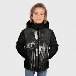 Куртка зимняя для мальчика Гробовщик 2 цвета 3D-черный — фото 2