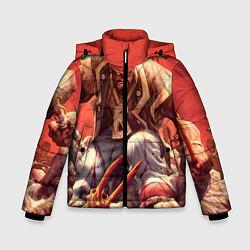 Куртка зимняя для мальчика Dead island 5 цвета 3D-черный — фото 1