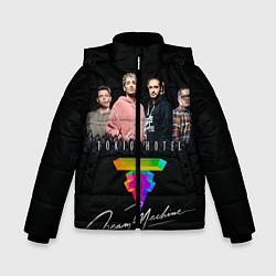 Куртка зимняя для мальчика Tokio Hotel: Dream Band цвета 3D-черный — фото 1