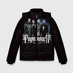 Куртка зимняя для мальчика Paparoach: Black style цвета 3D-черный — фото 1