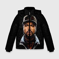Куртка зимняя для мальчика Ice Cube цвета 3D-черный — фото 1