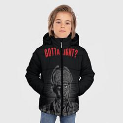 Куртка зимняя для мальчика Gotta light? цвета 3D-черный — фото 2