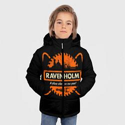 Куртка зимняя для мальчика Ravenholm цвета 3D-черный — фото 2