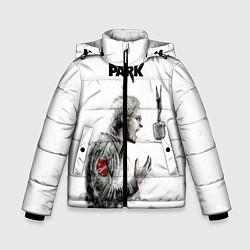 Куртка зимняя для мальчика Bennington Song цвета 3D-черный — фото 1
