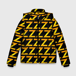 Куртка зимняя для мальчика Brazzers Z цвета 3D-черный — фото 1