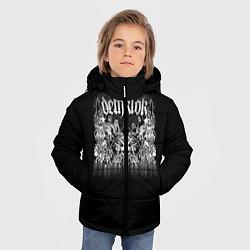 Детская зимняя куртка для мальчика с принтом Dethklok: Demons, цвет: 3D-черный, артикул: 10134389906063 — фото 2