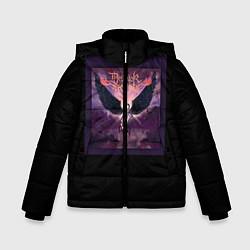 Куртка зимняя для мальчика Dethklok: Angel цвета 3D-черный — фото 1