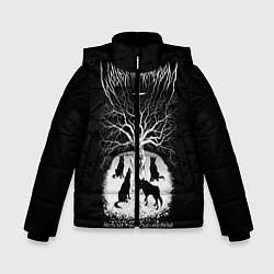 Куртка зимняя для мальчика Wolves in the Throne Room цвета 3D-черный — фото 1