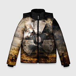 Куртка зимняя для мальчика STALKER: Nuclear цвета 3D-черный — фото 1