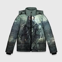 Детская зимняя куртка для мальчика с принтом STALKER, цвет: 3D-черный, артикул: 10135205306063 — фото 1