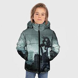Детская зимняя куртка для мальчика с принтом STALKER: Pripyat, цвет: 3D-черный, артикул: 10135205906063 — фото 2