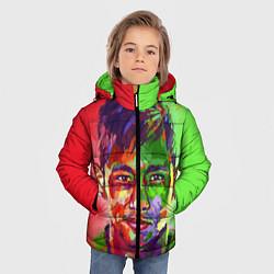 Куртка зимняя для мальчика Neymar Art цвета 3D-черный — фото 2